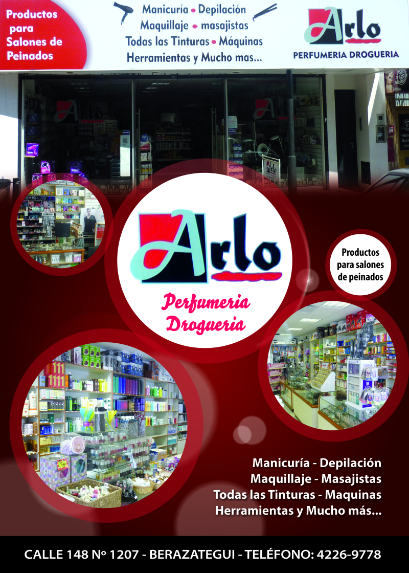 Arlo, drogueria