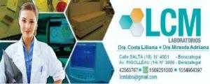 LCM, Analisis Clinicos