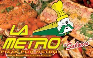 La Metro, Pizza por Metro