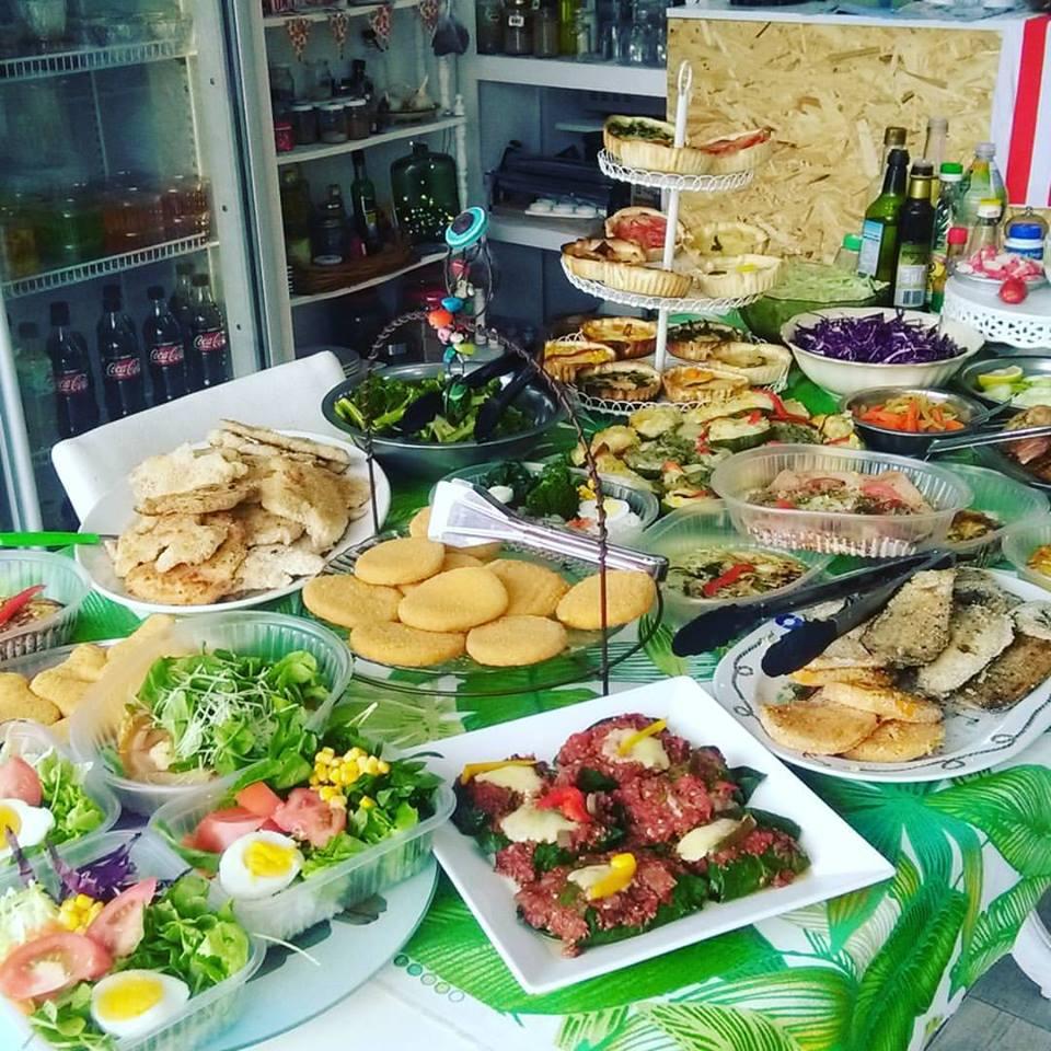 Sobrenatural, comidas saludables