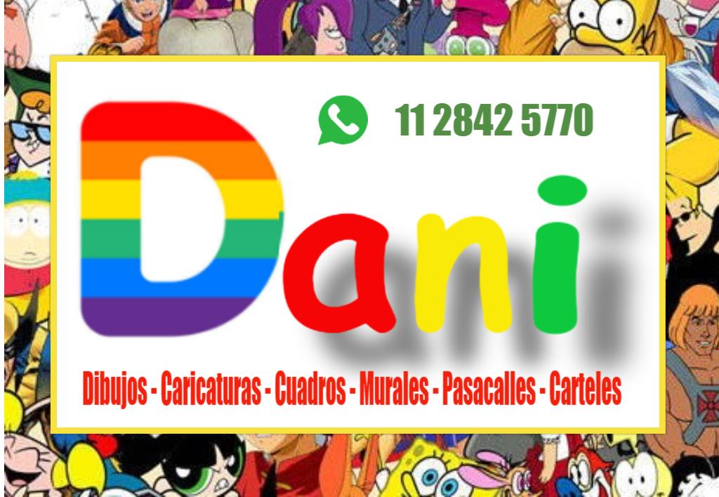 Dani, dibujante artistico