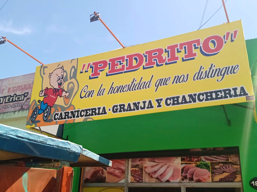 Frente, Carnicería Pedrito