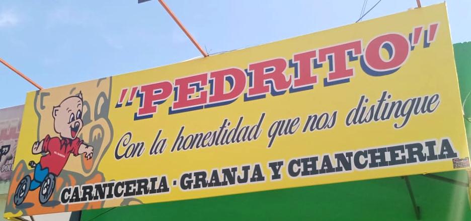 Logo, Carnicería Pedrito