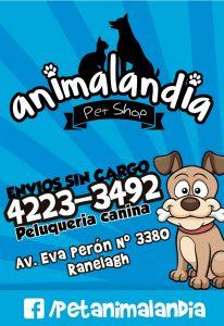 Animalandia Pet Shop Banner