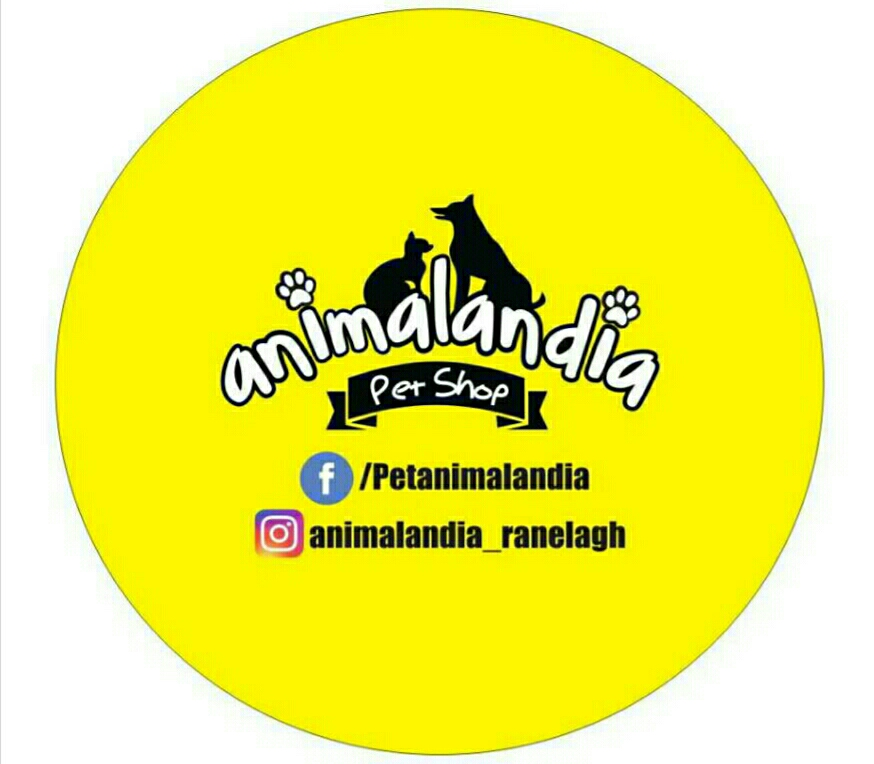 Animalandia Pet Shop Logo