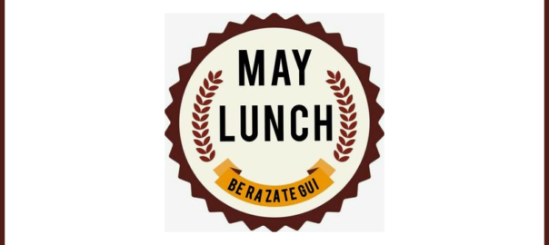 may lunch banner
